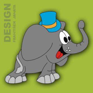 A 4 slon klobouk