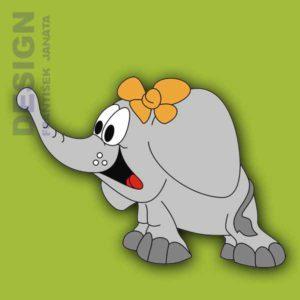 A 5 slon mašle