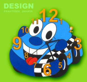 auto modré 1