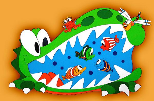 krokodýl vrstva
