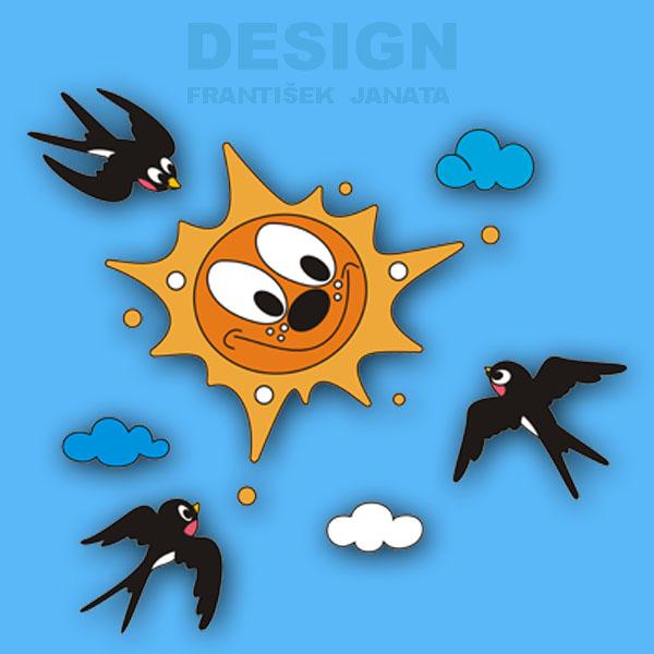 sluníčko vlašťovky