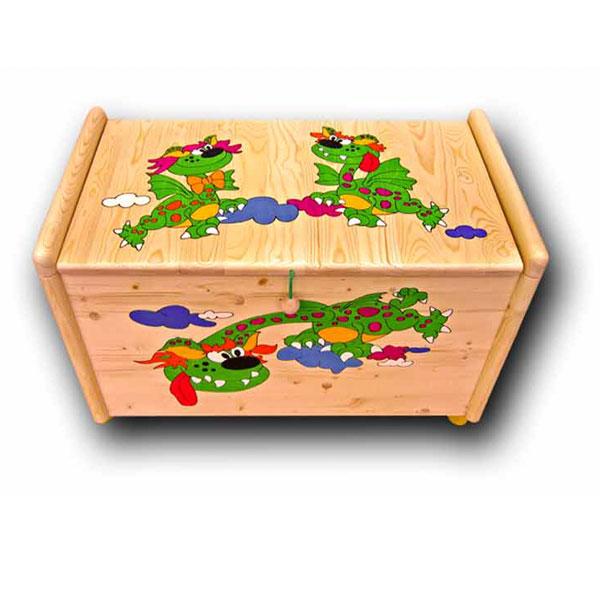 Truhla na hračky Drak