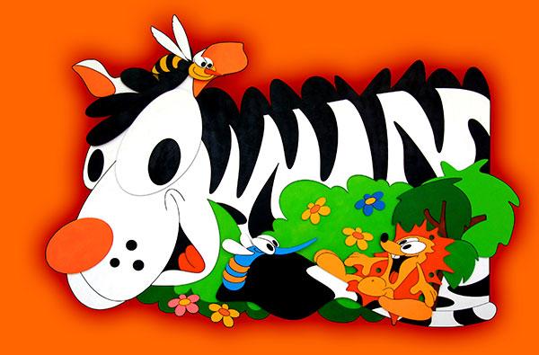 zebra vrstva