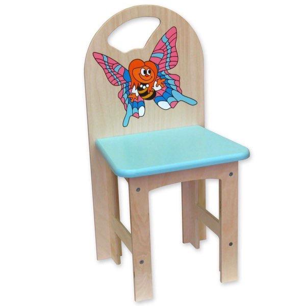 židlička překližka holka