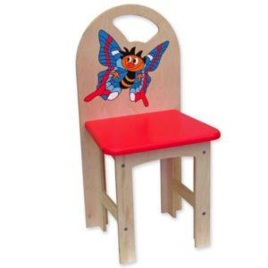 židlička překližka kluk