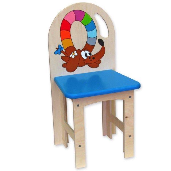 židlička překližka pejsek