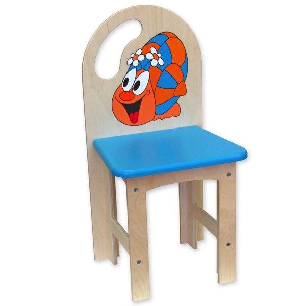židlička překližka šnek