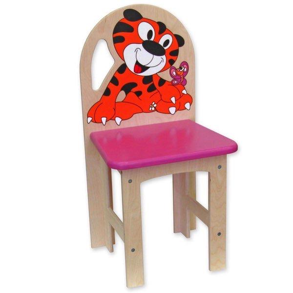 židlička překližka tygřík