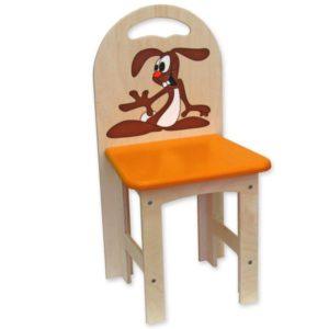 židlička překližka zajíc 1