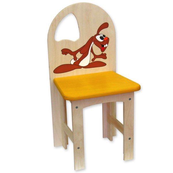 židlička překližka zajíc 2