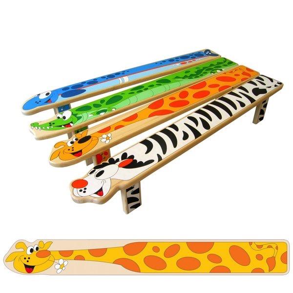 lavička žirafa LA 3